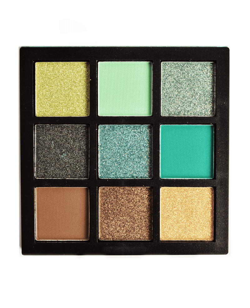 Bella Forever Heart Obsessions Collection Eyeshadow Palette- Emerald, COSMETIC