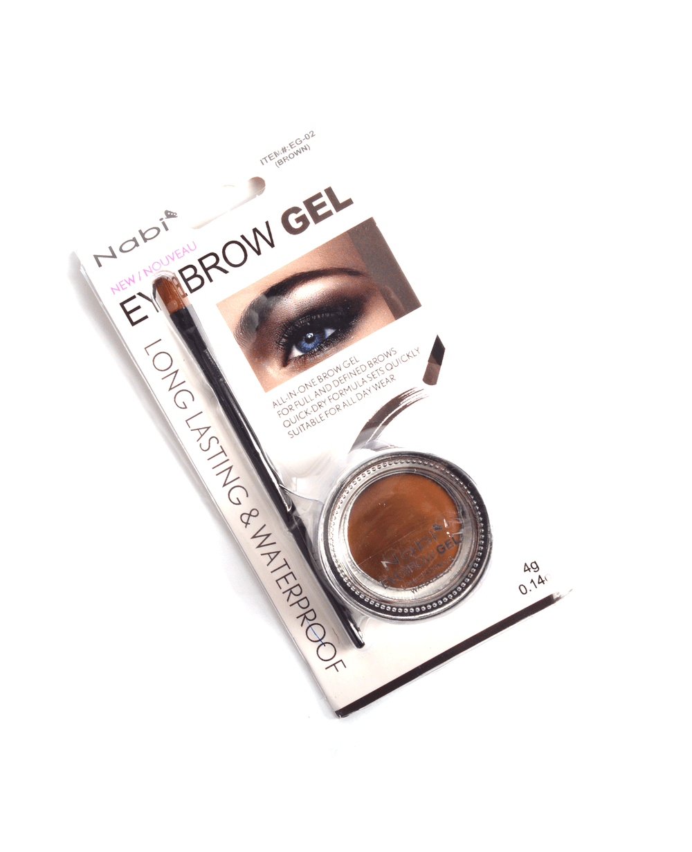 Nabi Eyebrow Gel- Brown, COSMETIC