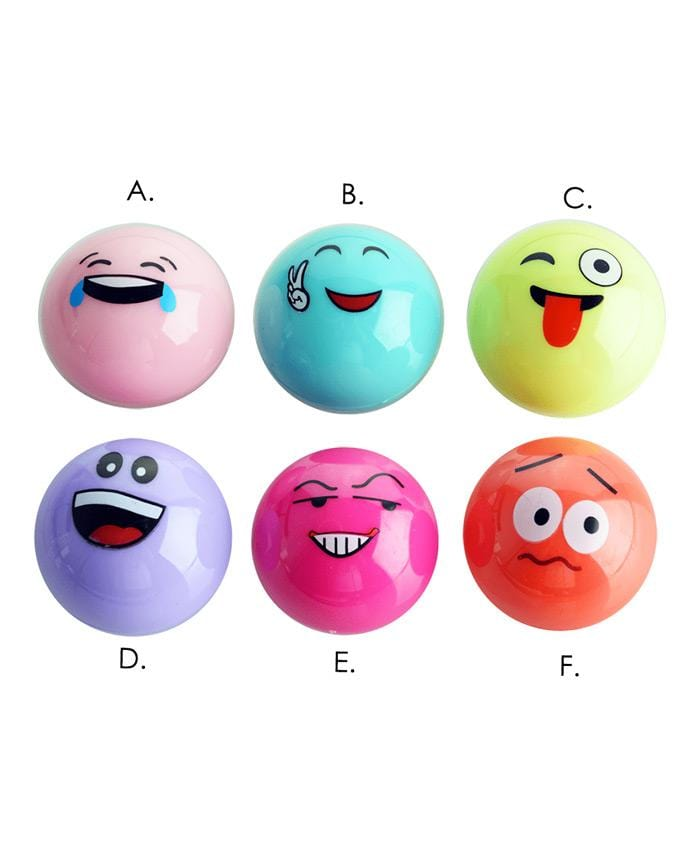 Magic Emoji Ball Lip Balm, COSMETIC