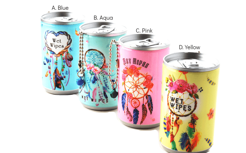 Soda Pop Can Wet Wipes- Dream Catcher