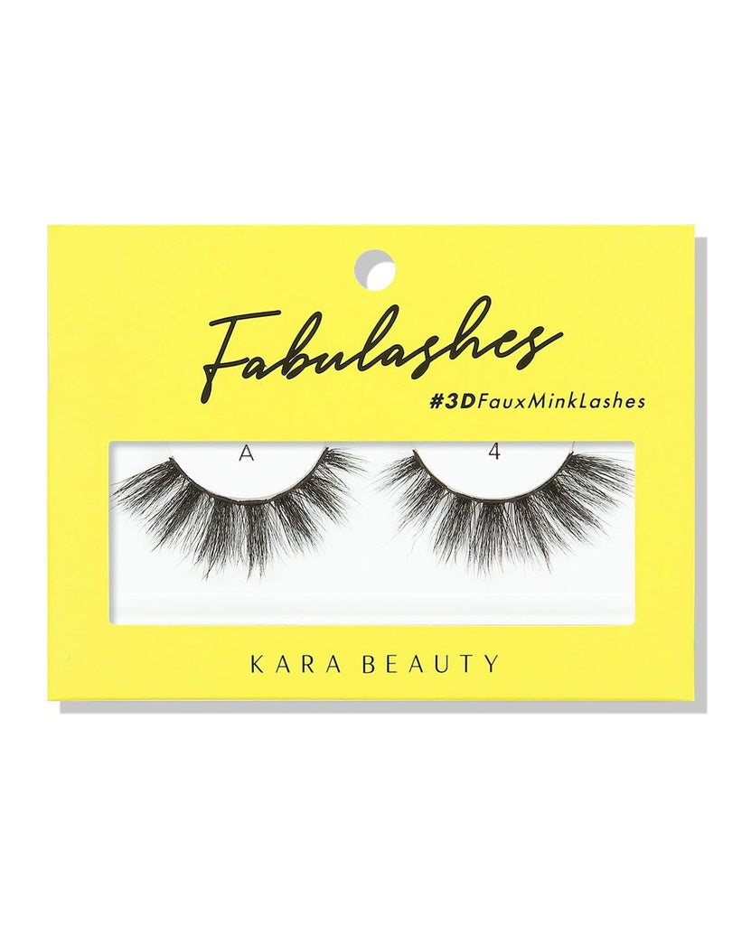 Kara Beauty 3D Faux Mink Eyelashes-A4