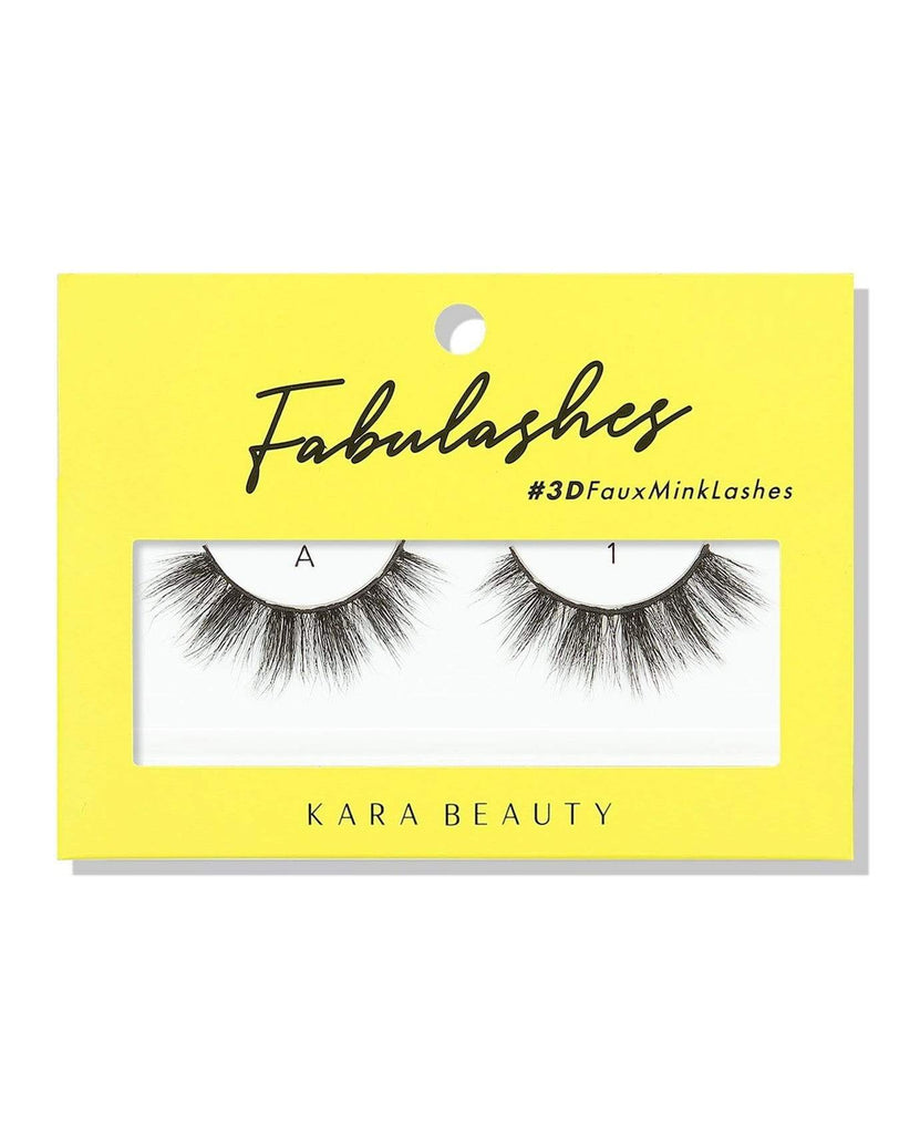 Kara Beauty 3D Faux Mink Eyelashes-A1