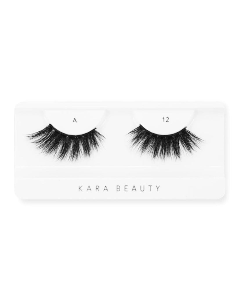 Kara Beauty 3D Faux Mink Eyelashes-A12