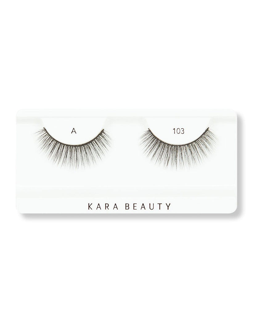 Kara Beauty 3D Faux Mink Eyelashes-A103