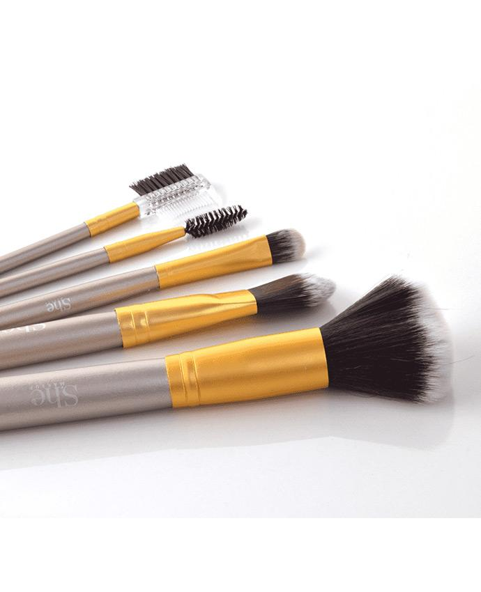 S.he Golden Hour 13 Piece Brush Set