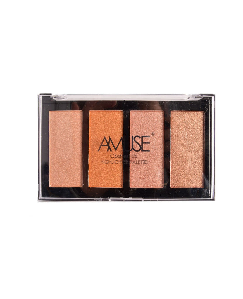 Amuse 4 Color Highlighter Palette