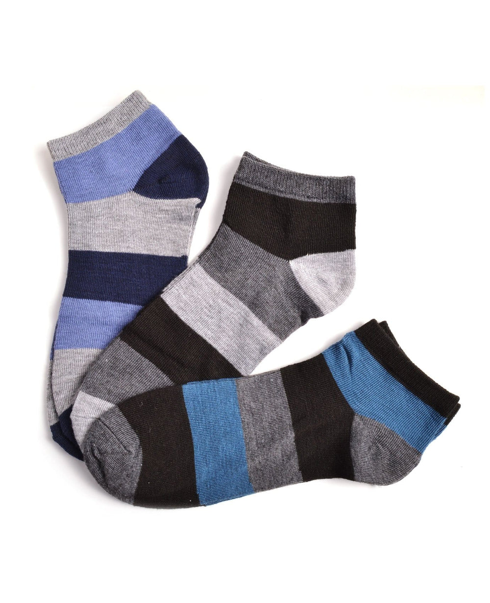 Power Club Blue Stripes Men's Fashion Socks