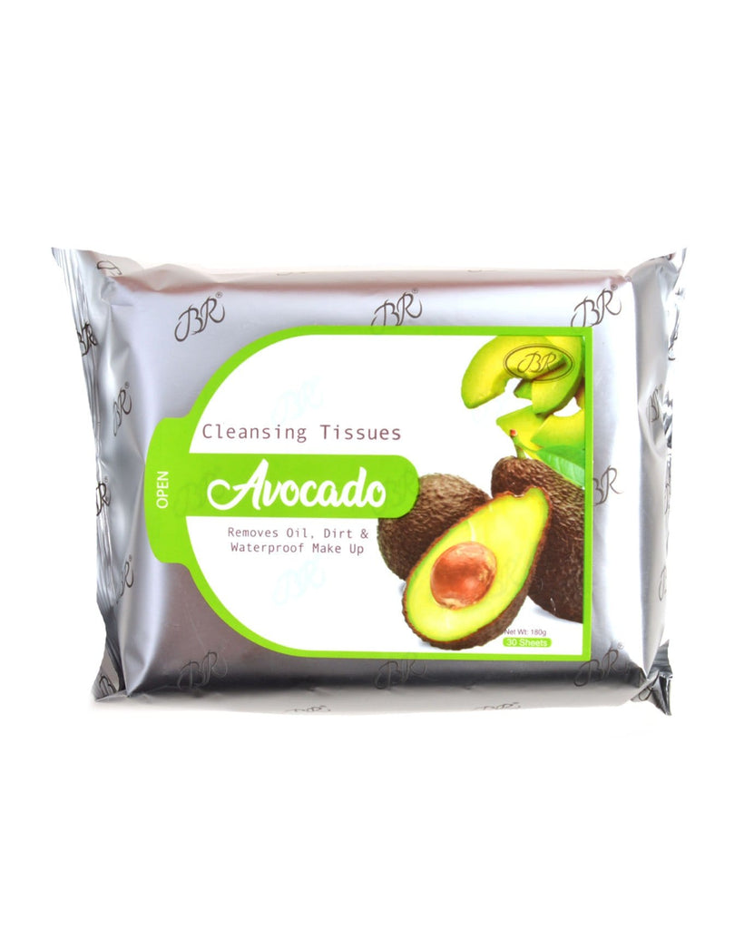 Br Makeup Remover Cleansing Towelettes - Avocado