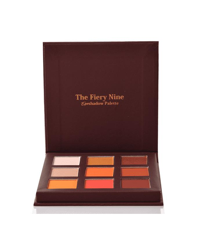 Kara Beauty Fiery Nine Eyeshadow Palette, COSMETIC