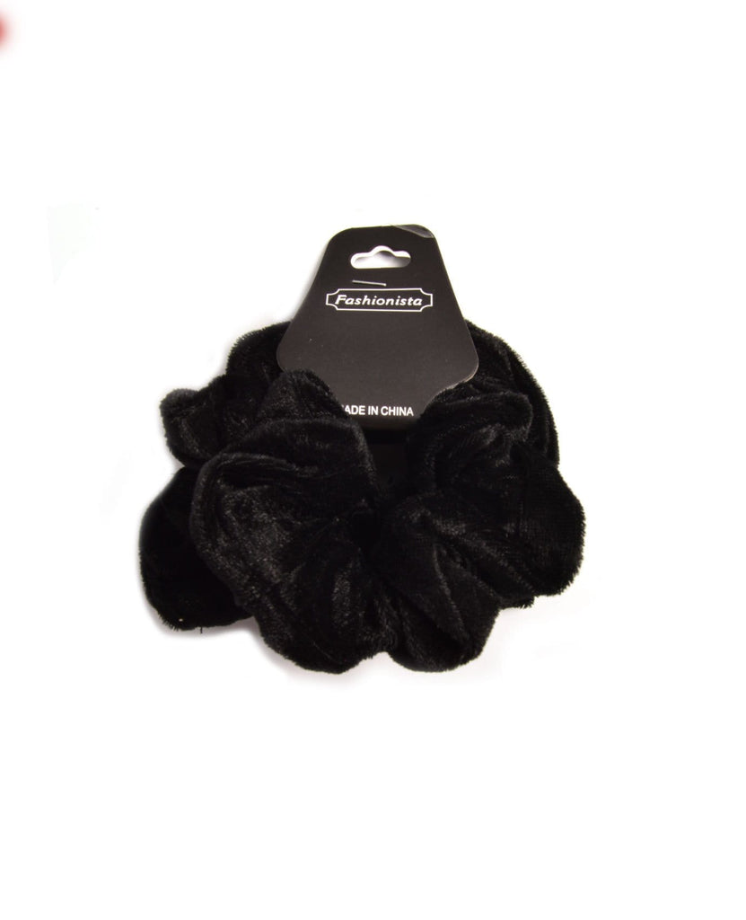 Black Velvet Scrunchies
