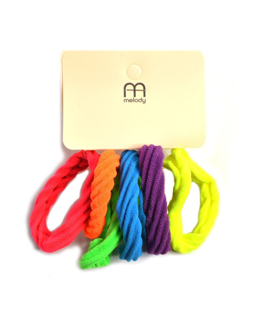 Bright Neon Hair Ties