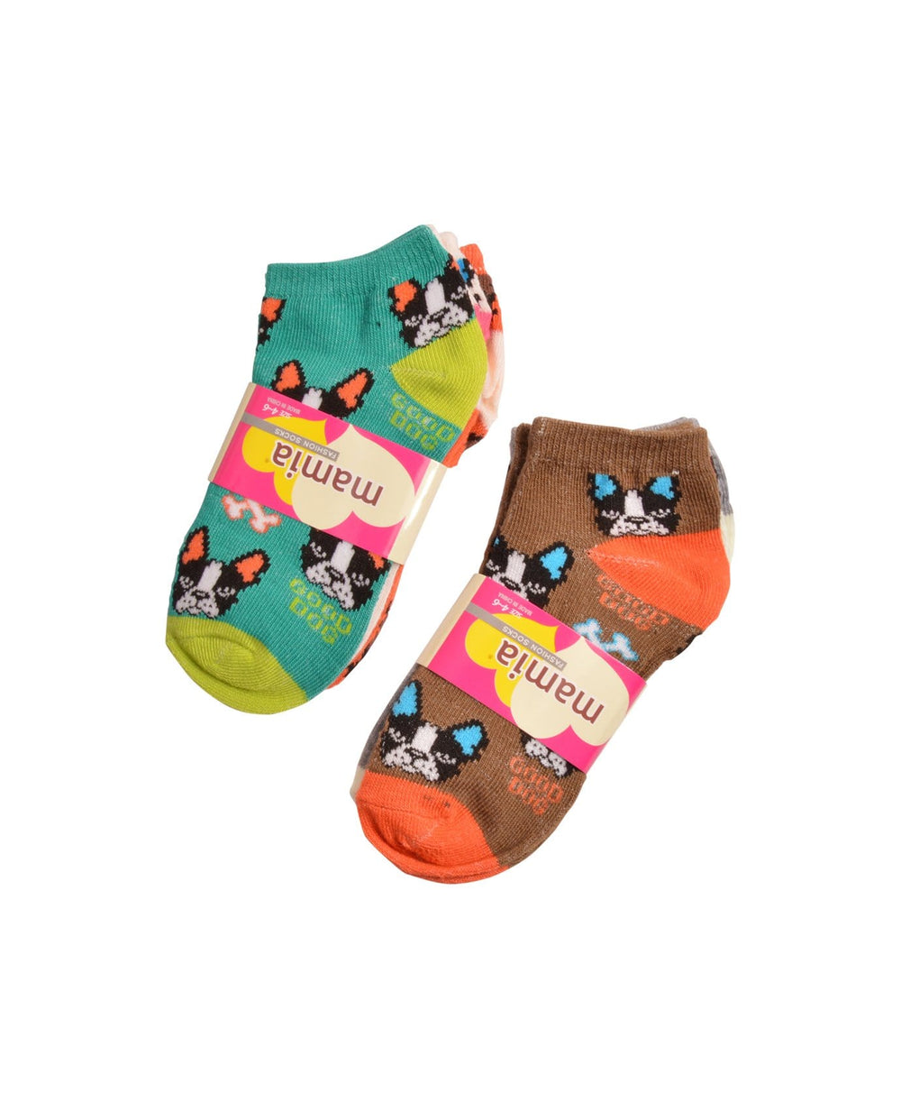 Mamia Good Dog Girl's Toodler Socks