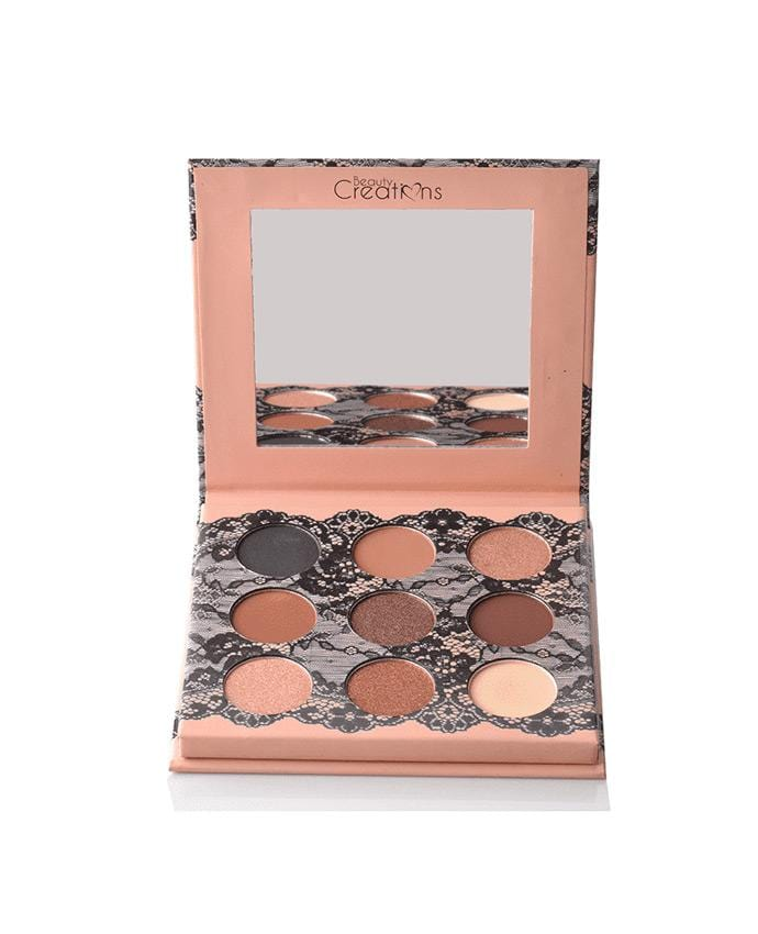 Beauty Creations Boudoir Shadows - A - 9 Shade Eyeshadow Palette, COSMETIC