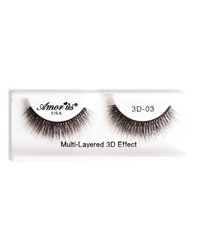 Amor Us 3D Faux Mink Eyelashes - 03, Eyelash