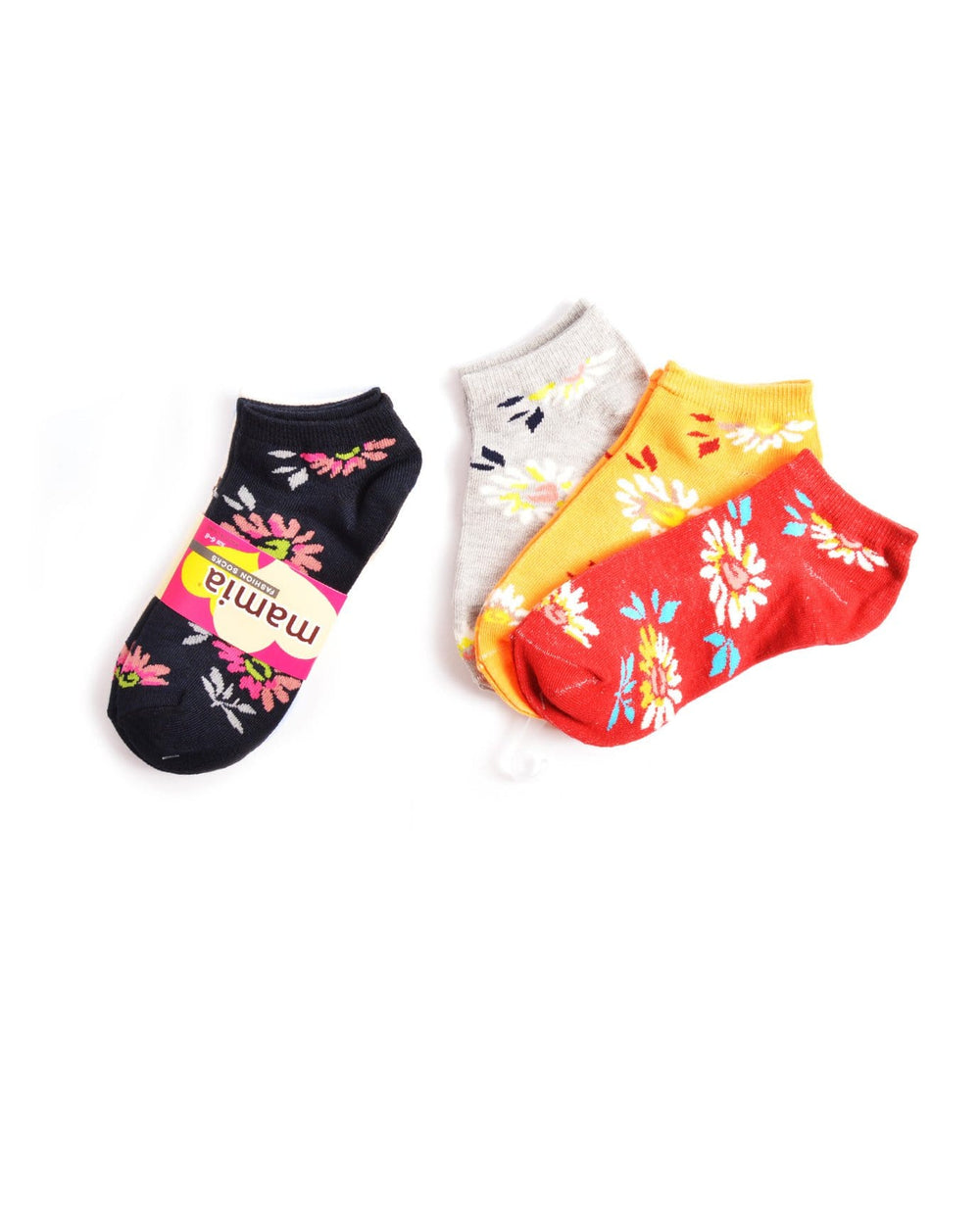 Mamia Flowers Girl's Fashion Socks
