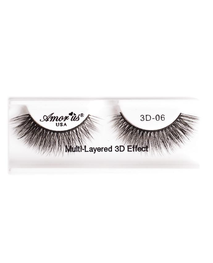 Amor Us 3D Faux Mink Eyelashes - 06, Eyelash