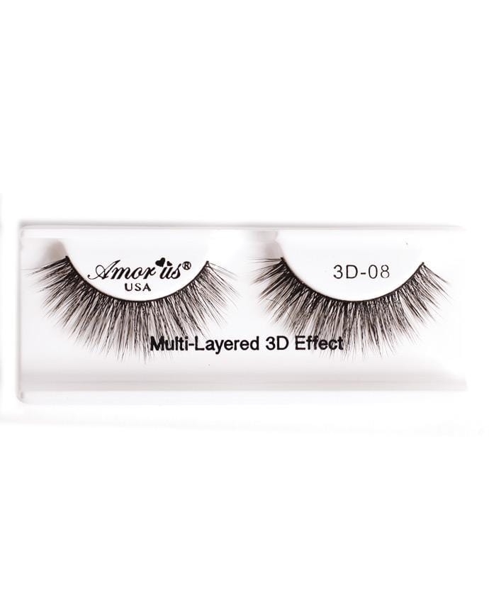 Amor Us 3D Faux Mink Eyelashes - 08, Eyelash
