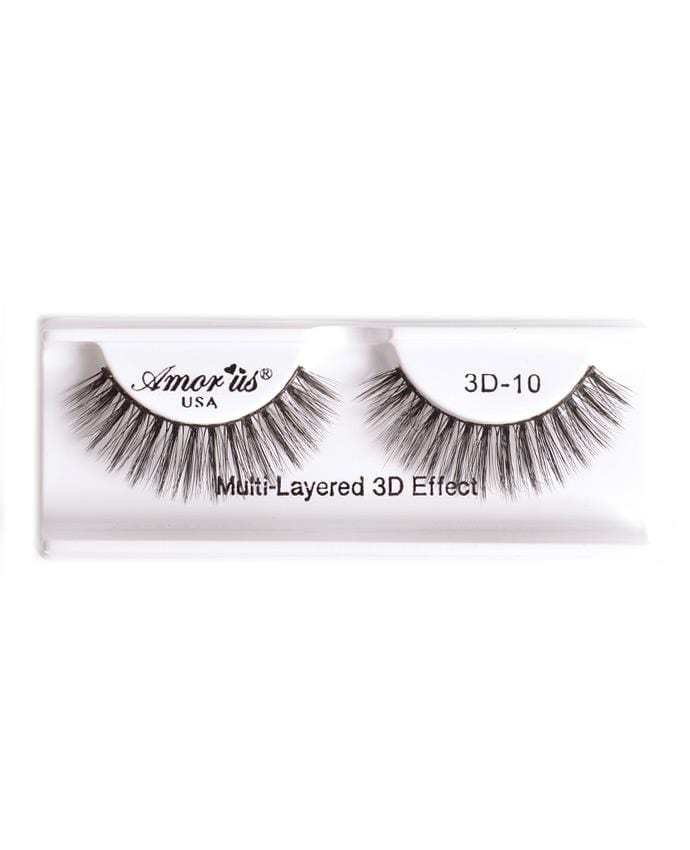 Amor Us 3D Faux Mink Eyelashes - 10, Eyelash