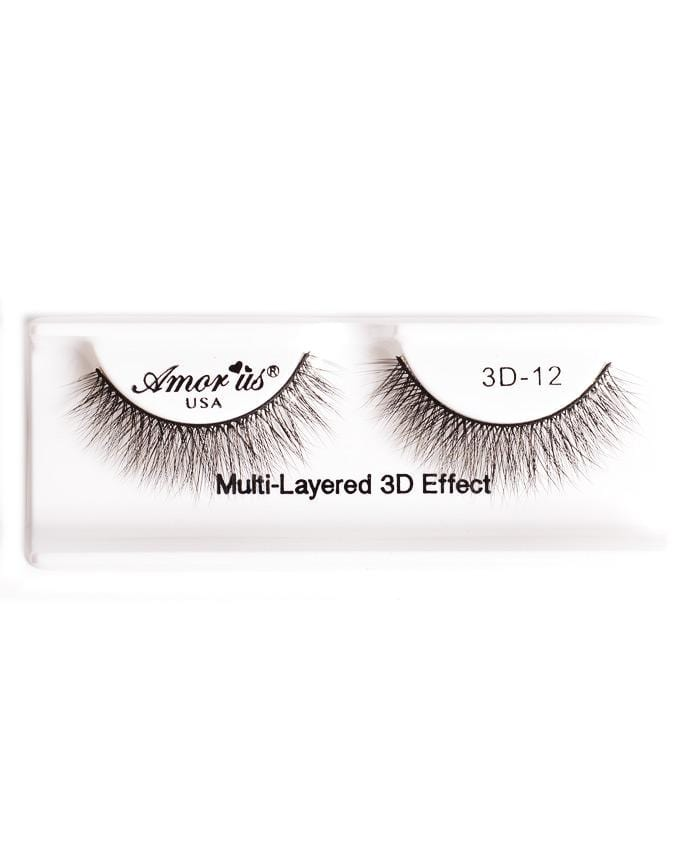 Amor Us 3D Faux Mink Eyelashes - 12, Eyelash