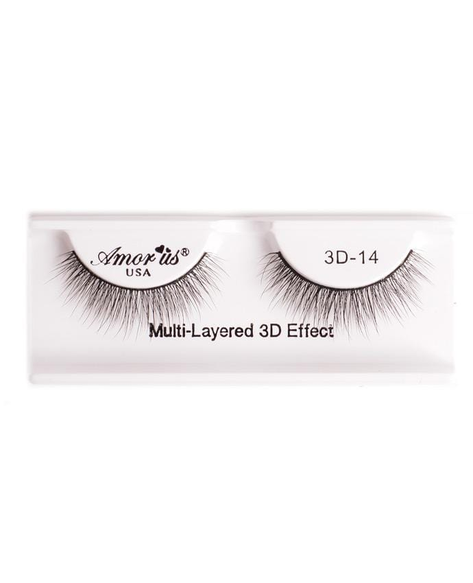 Amor Us 3D Faux Mink Eyelashes - 14, Eyelash