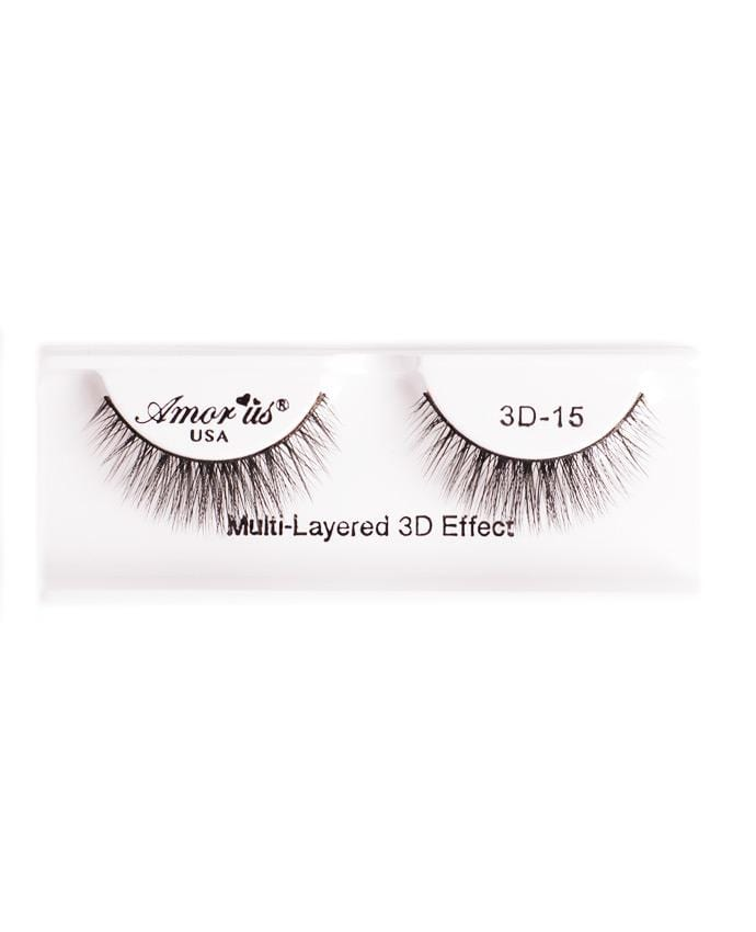 Amor Us 3D Faux Mink Eyelashes - 15, Eyelash