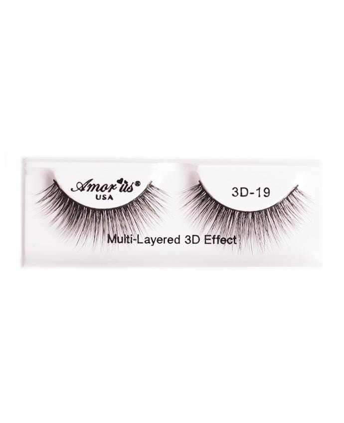 Amor Us 3D Faux Mink Eyelashes -19, Eyelash