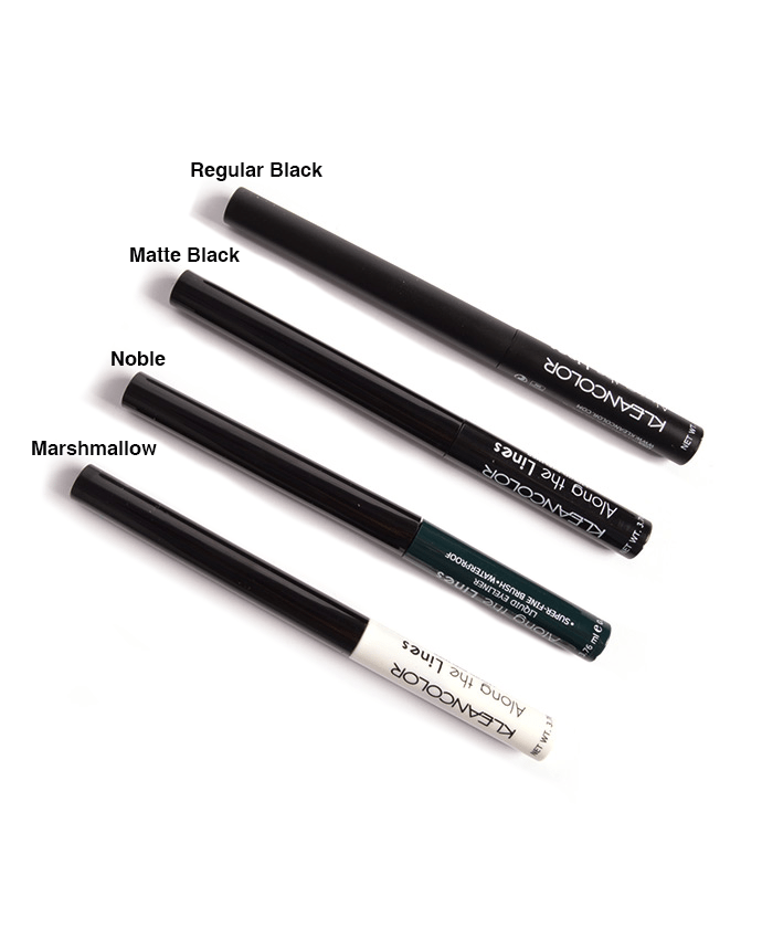 Kleancolor Along The Lines Liquid Eyeliner, COSMETIC