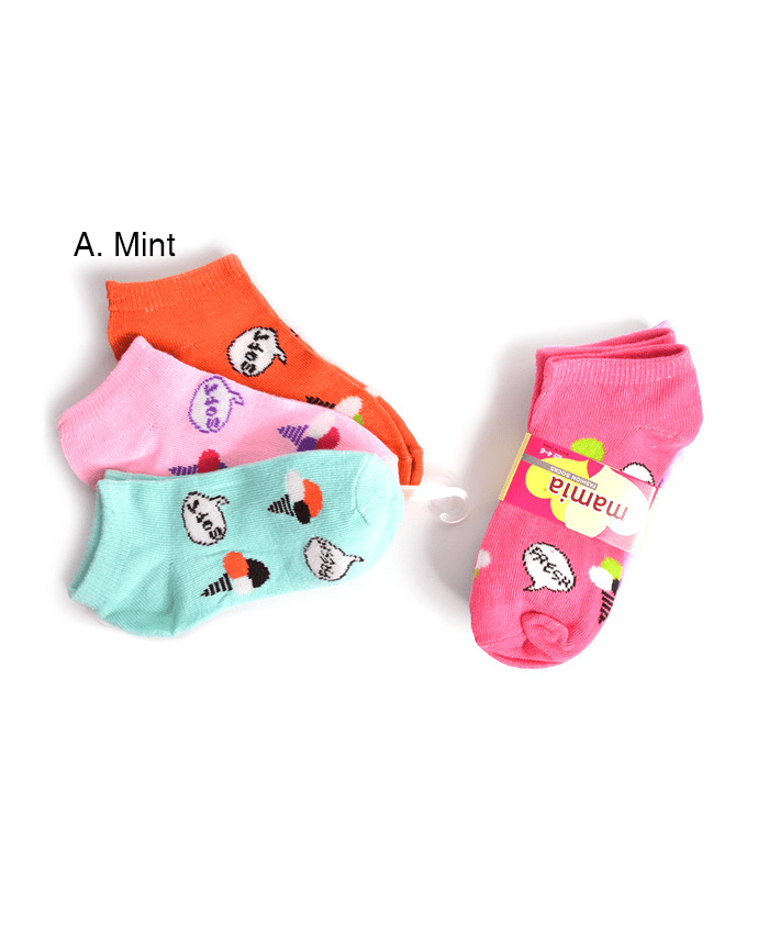 Mamia Icy Girl's Fashion Socks, EVES