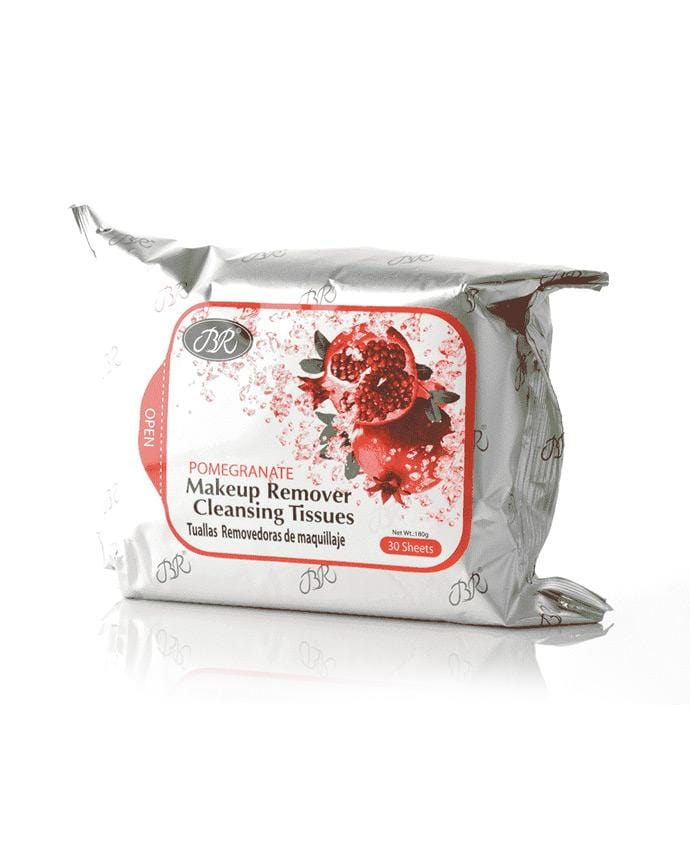 Br Makeup Remover Cleansing Towelettes - Pomegranate (30 Sheets)