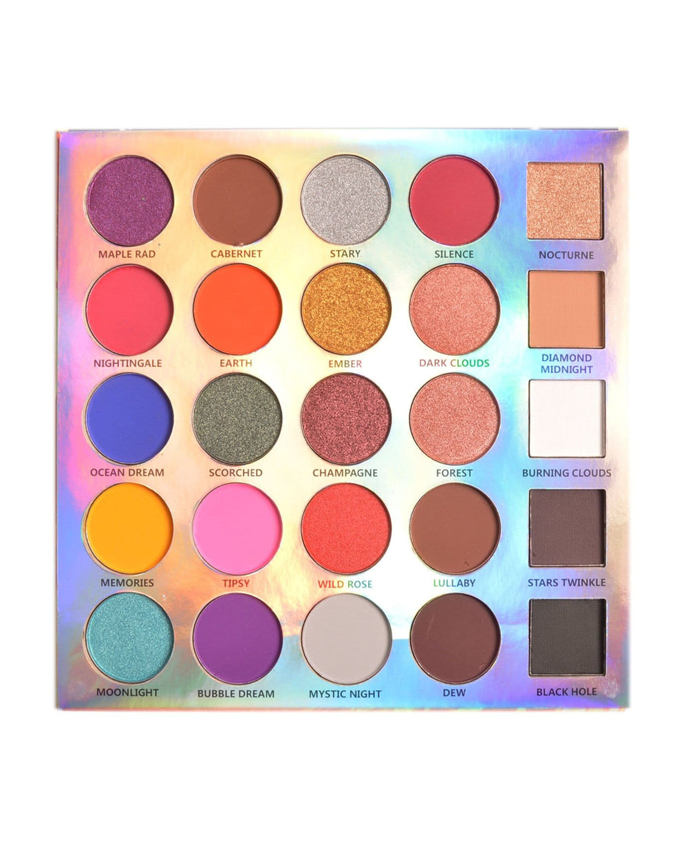 Santee Color Explosion Eyeshadow Palette
