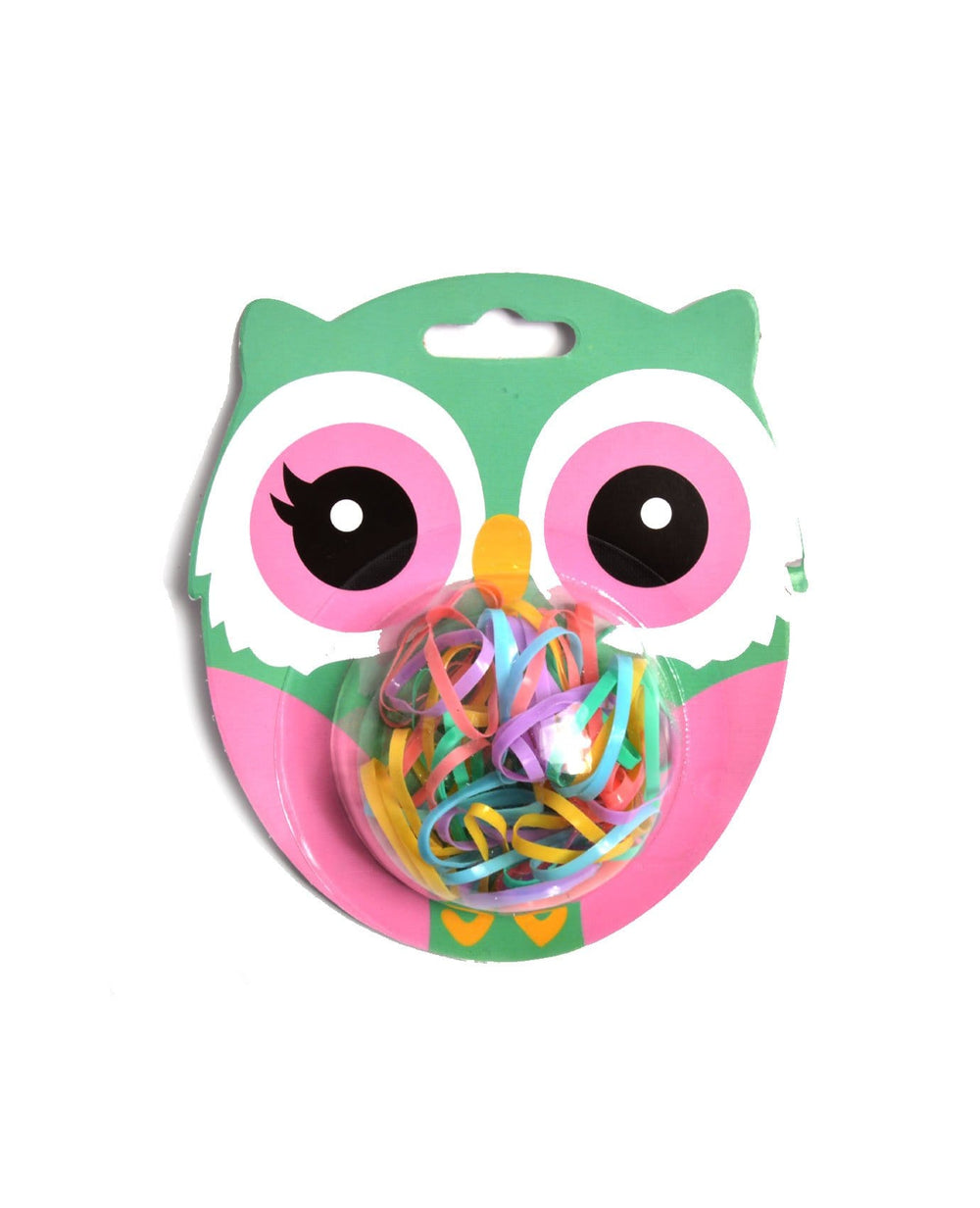 Mini Owl Elastic hair ties
