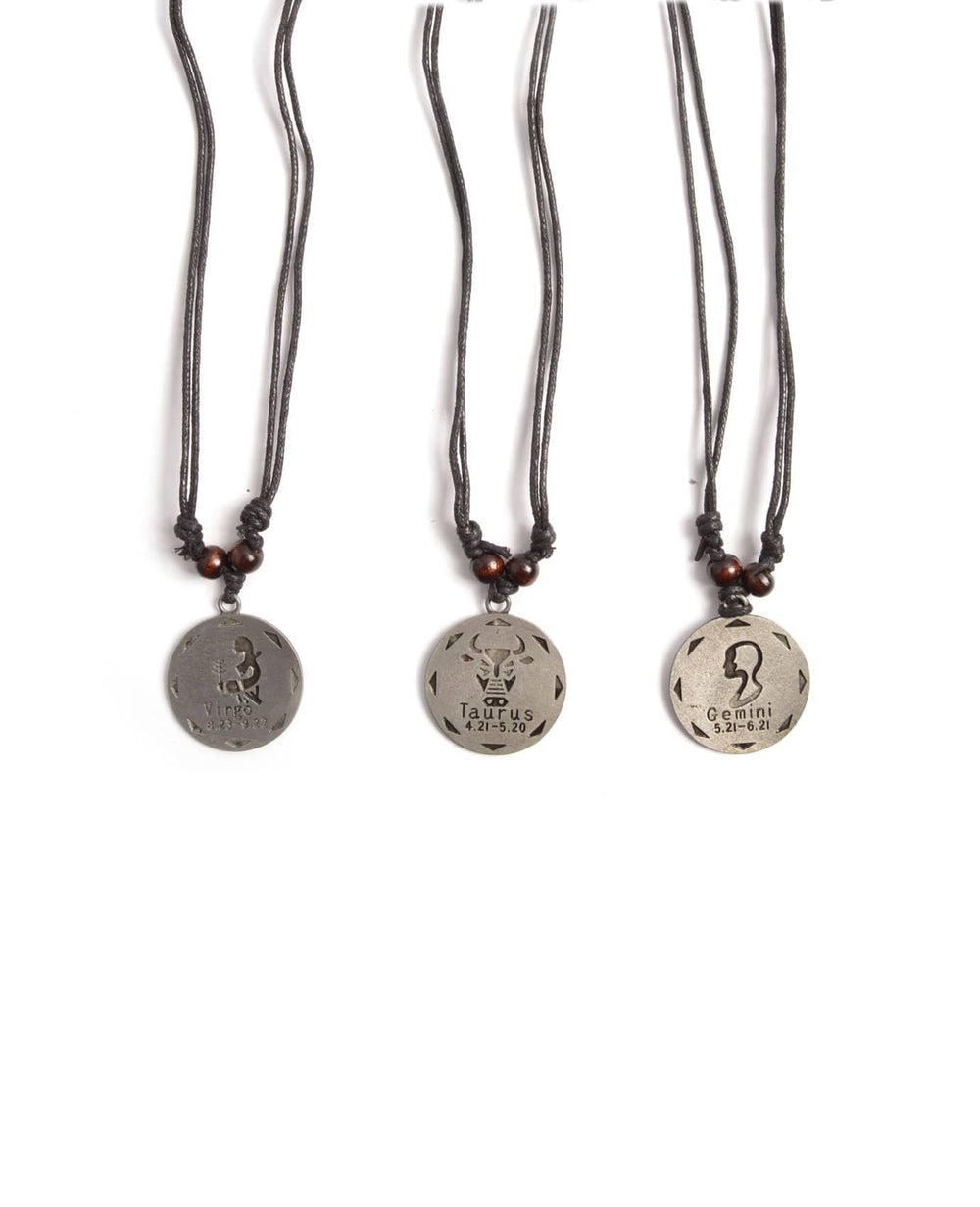 Zodiac Necklace-Silver