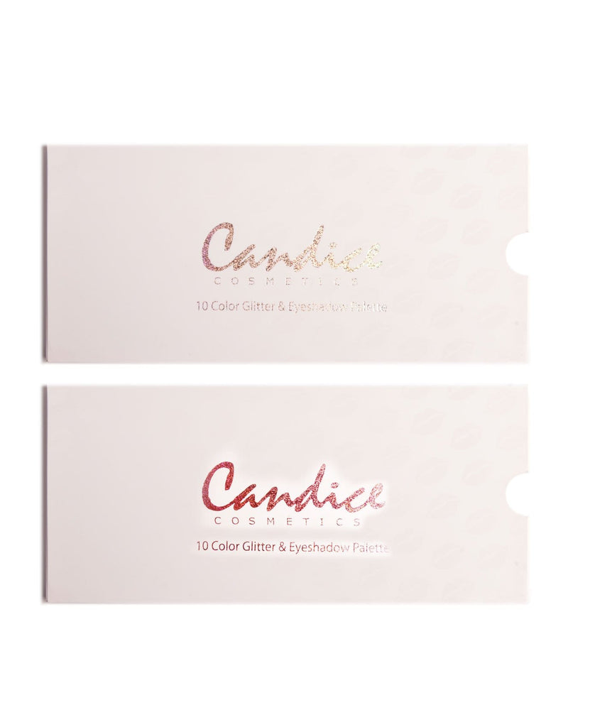 Candice 10 Shade Eyeshadow & Glitter Gift Set