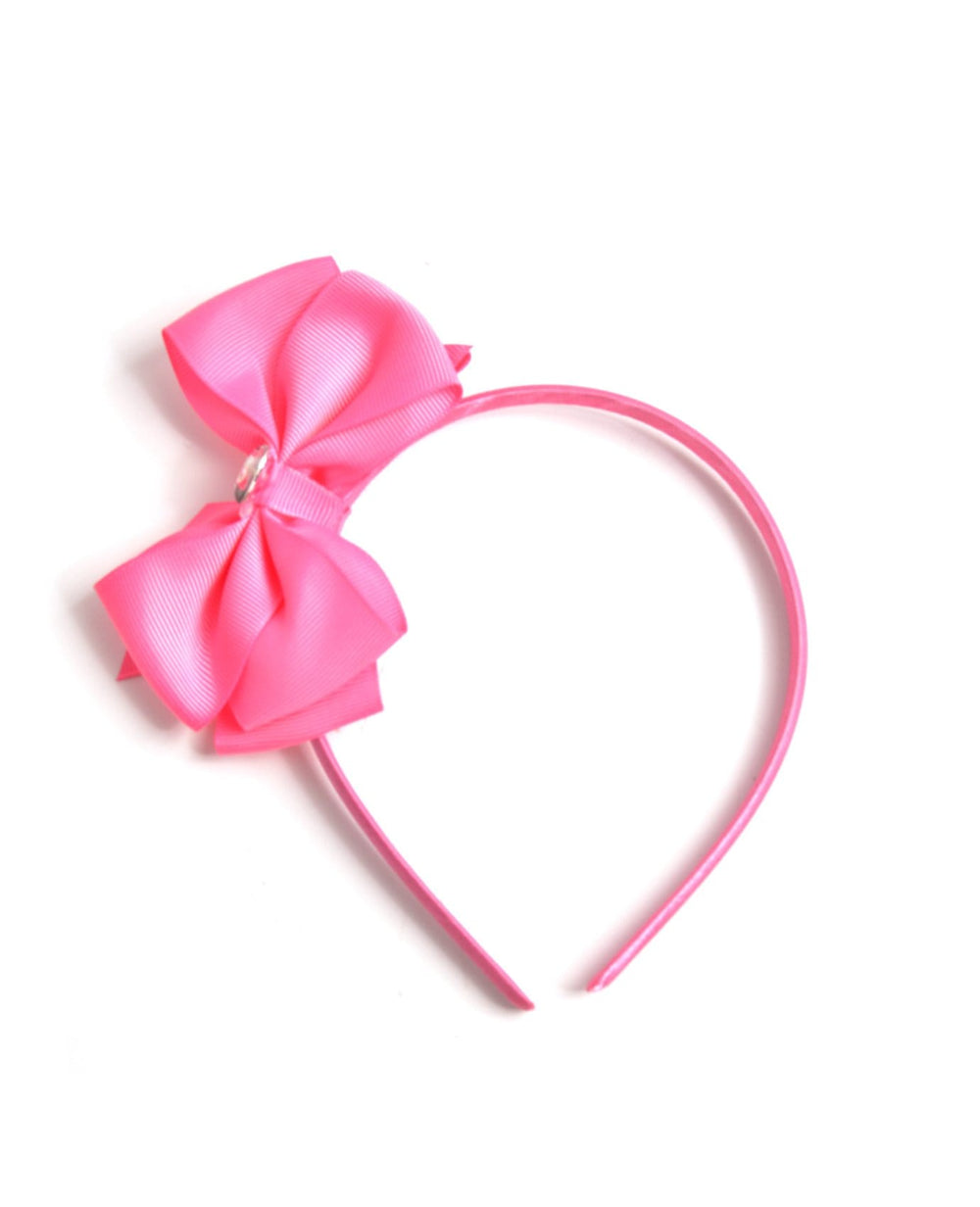 Heart Stone Bow Headband