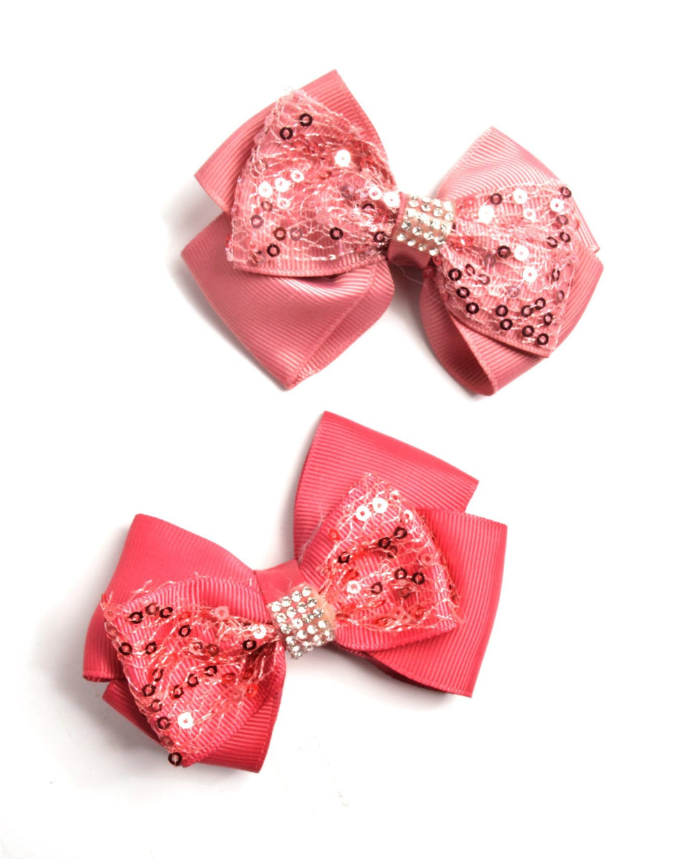 Round Sequins Bows (2pc. set)