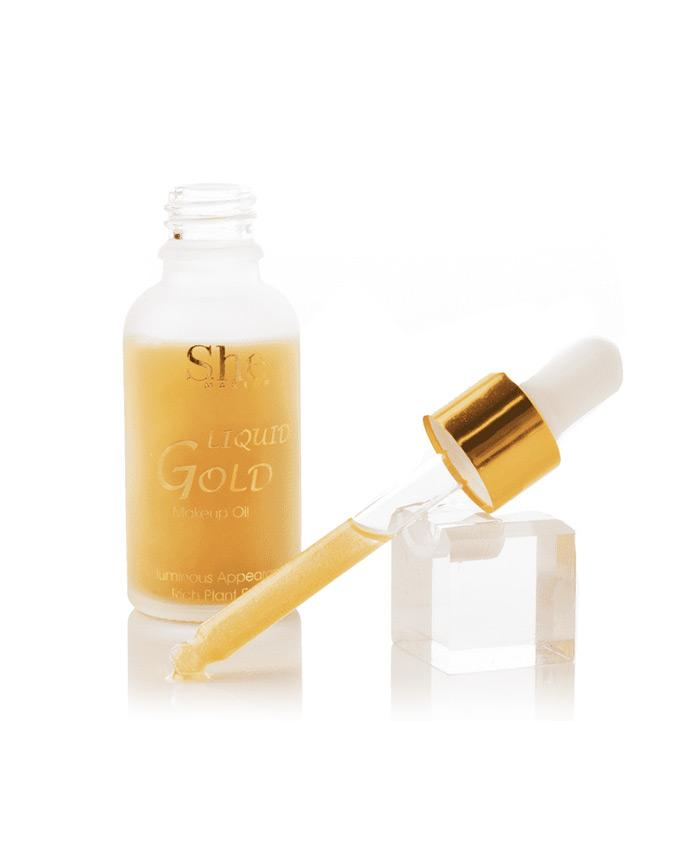 S.he Liquid Gold Primer Oil, COSMETIC