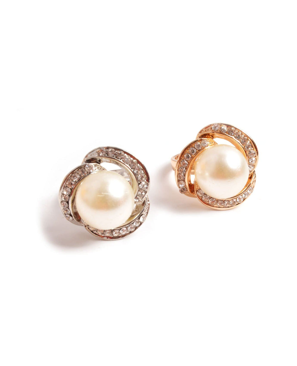Flower Pearl Rings