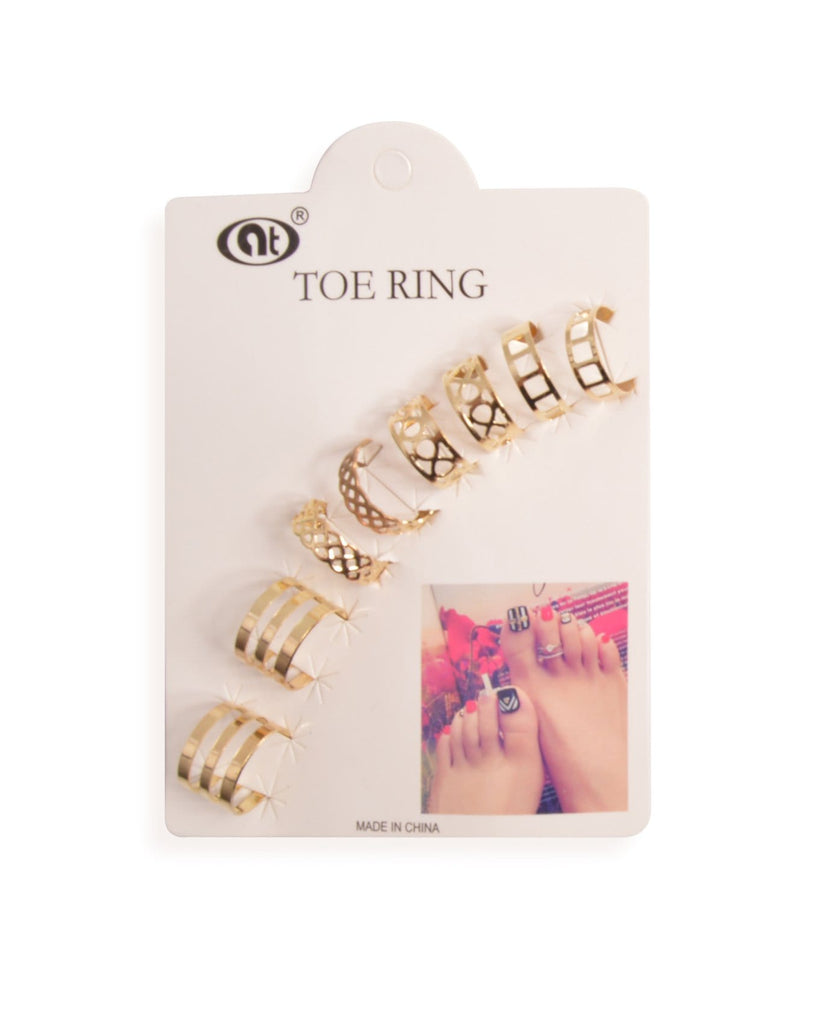 Summertime Toe Rings