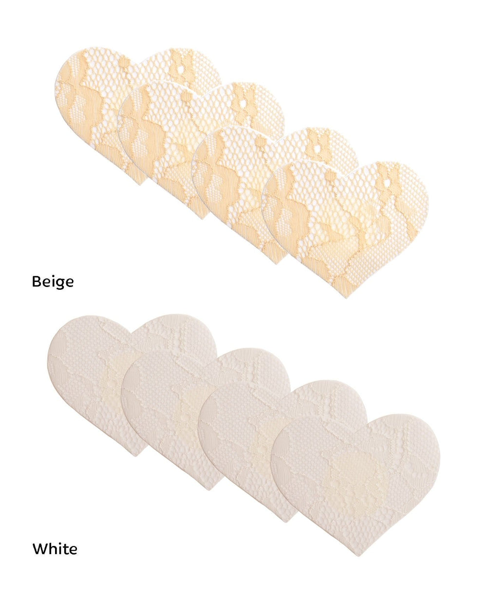 Heart Lace Nipple Covers