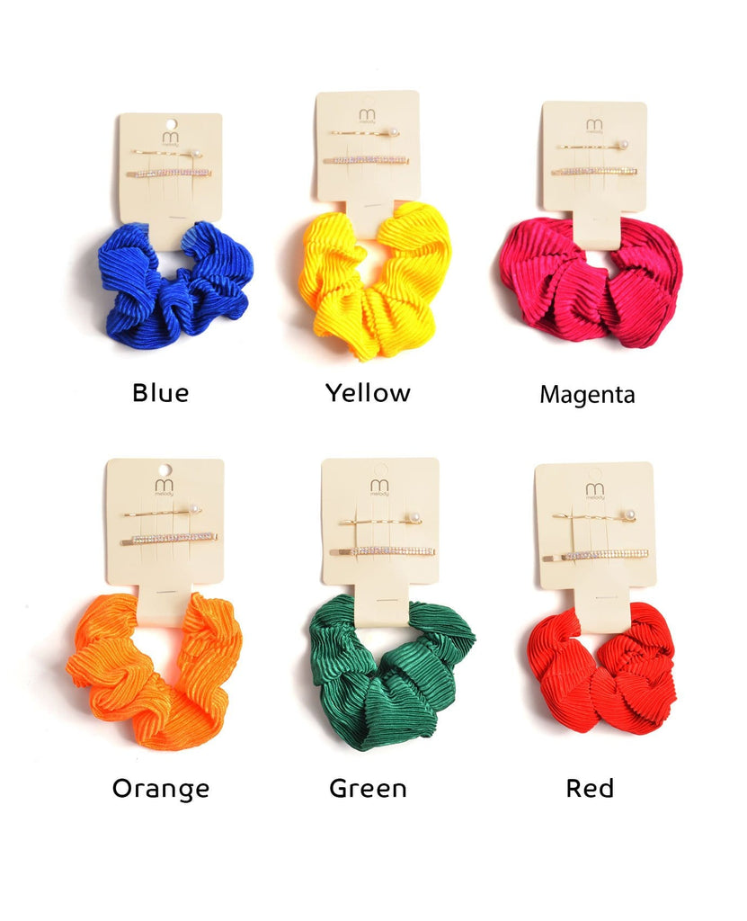 Create Your Own Rainbow Scrunchies