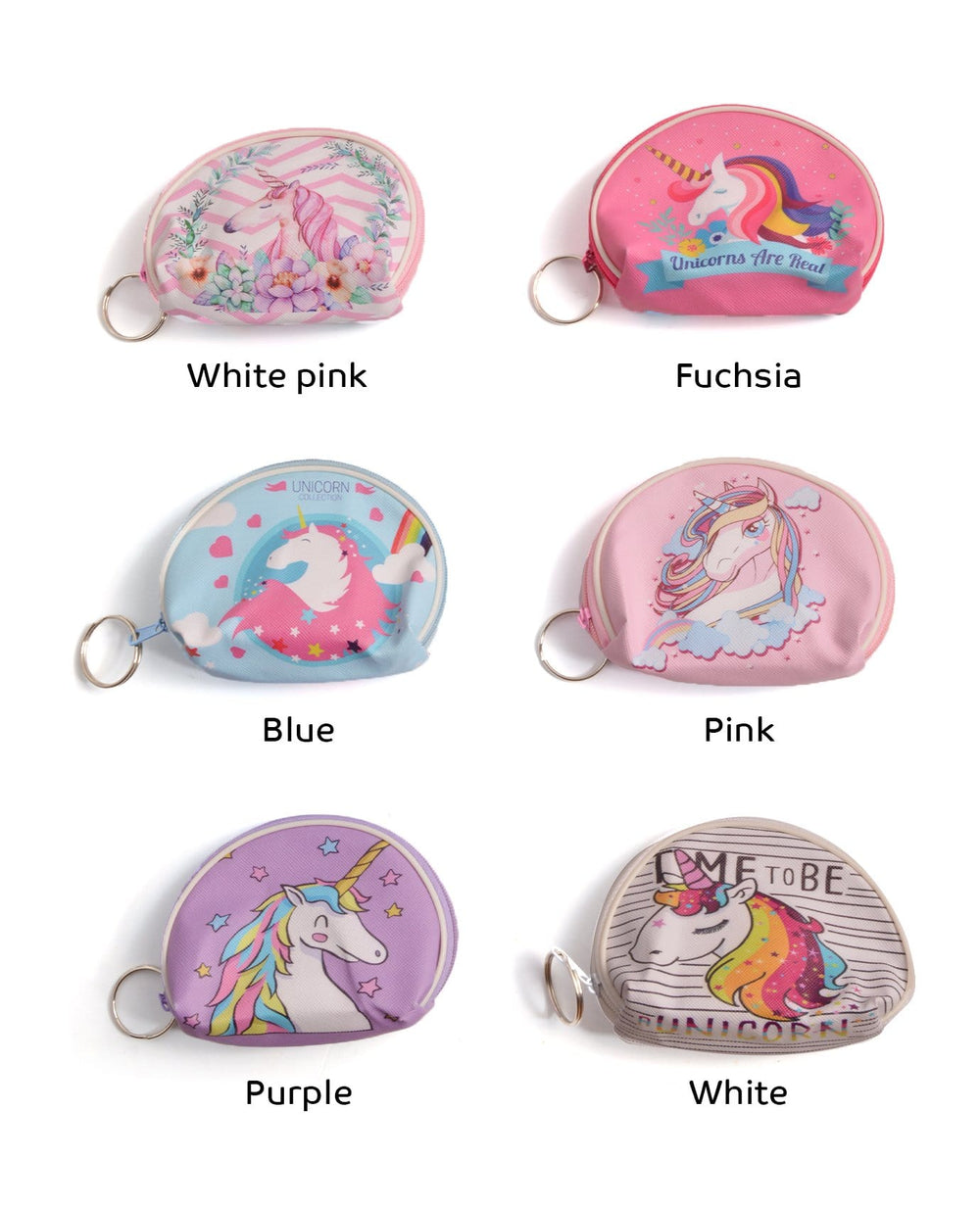 Choosing Unicorns Mini Coin Purse