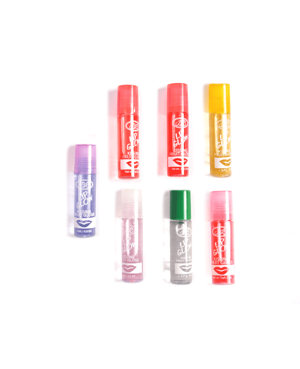 Br Lip Glow Kissing Fruit Lip Gloss- Bundle #5, COSMETIC