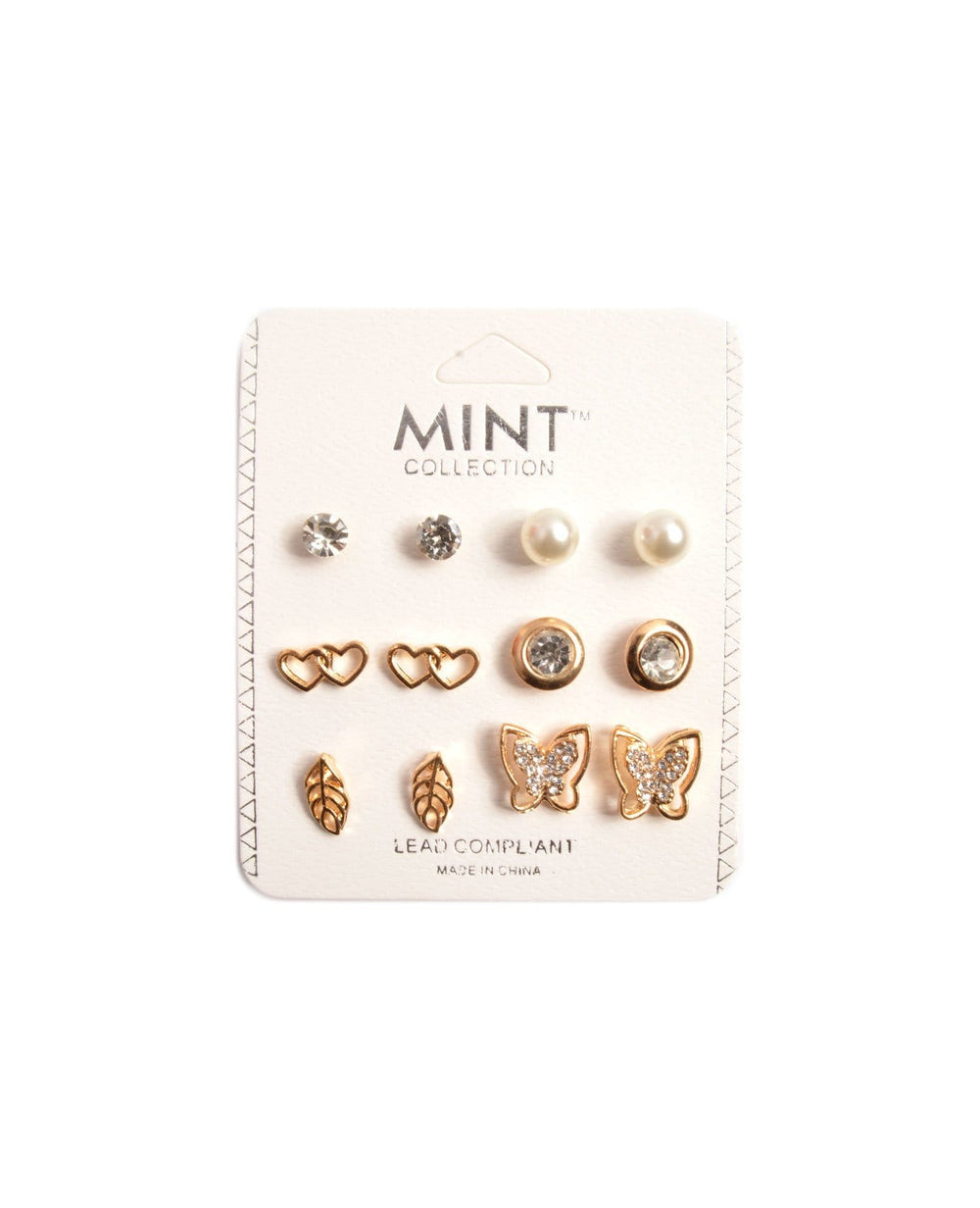 Loving Butterflies Earring Set