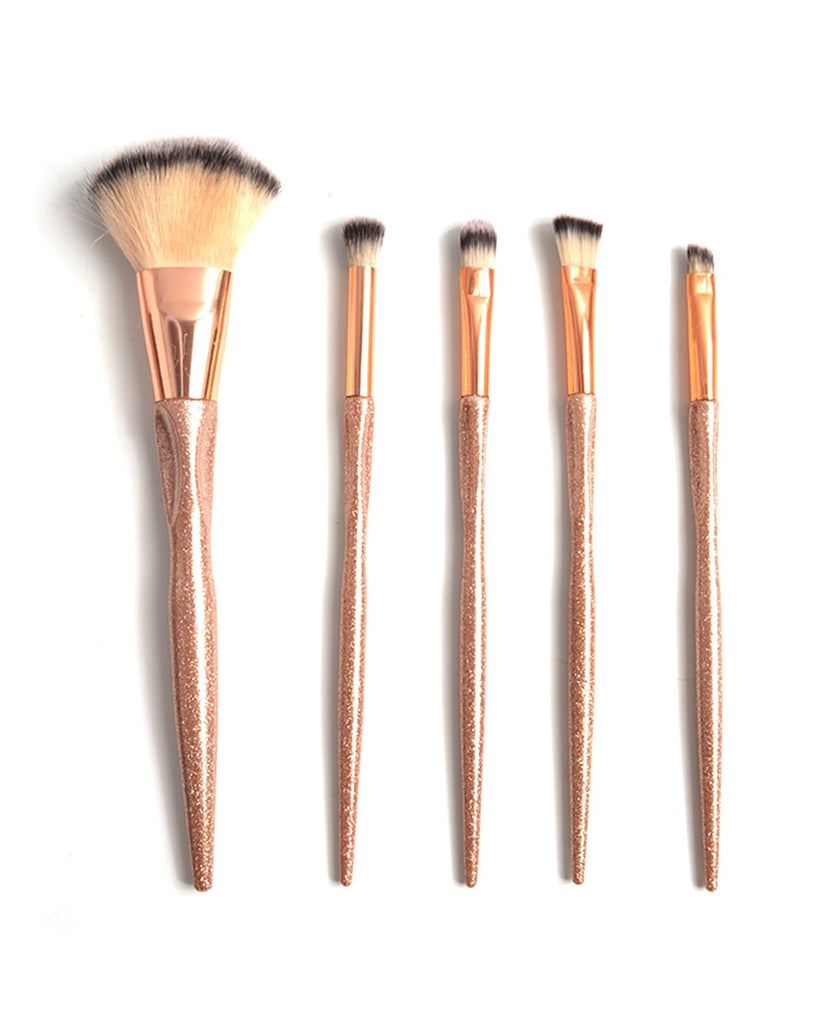 S.he Rose Gold Brush Set