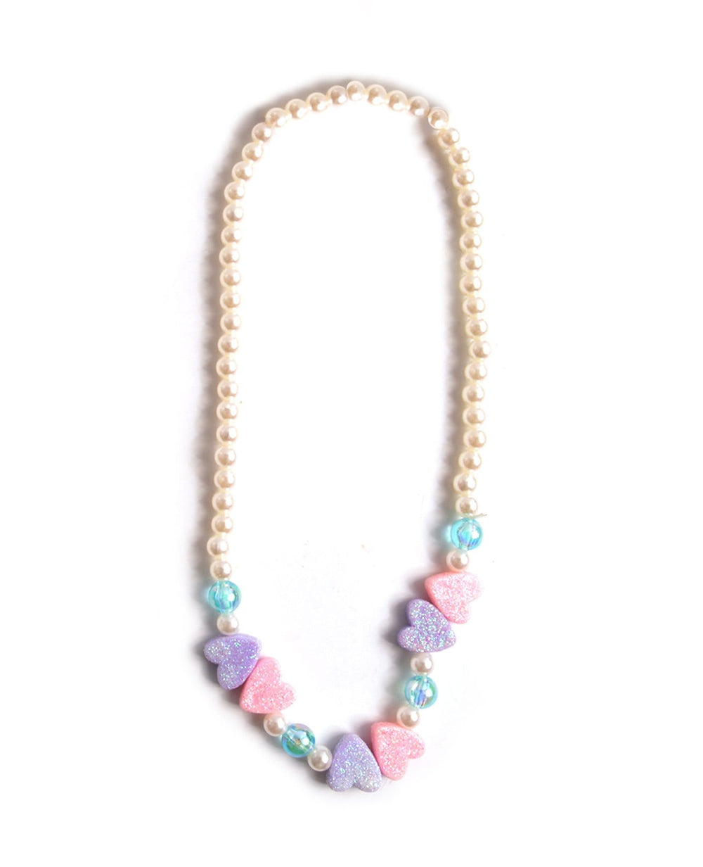 Marshmallow Hearts Necklace