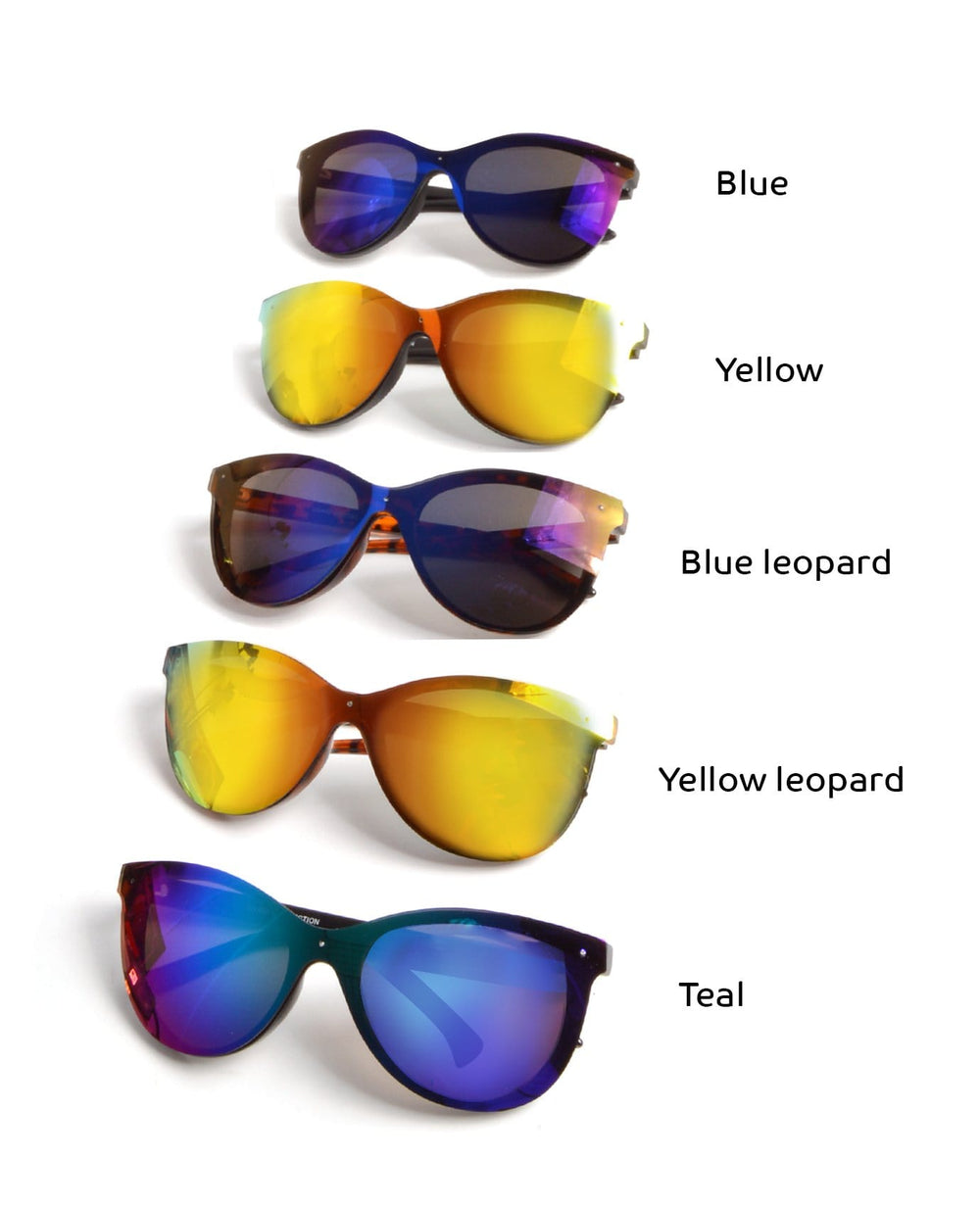 Colors Are The Smile Sunglasses