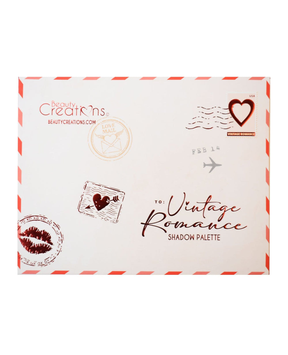 Beauty Creations Vintage Romance Eyeshadow Palette