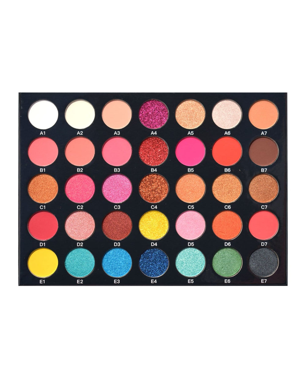 Romantic Beauty 35 Colors Eyeshadow Palette
