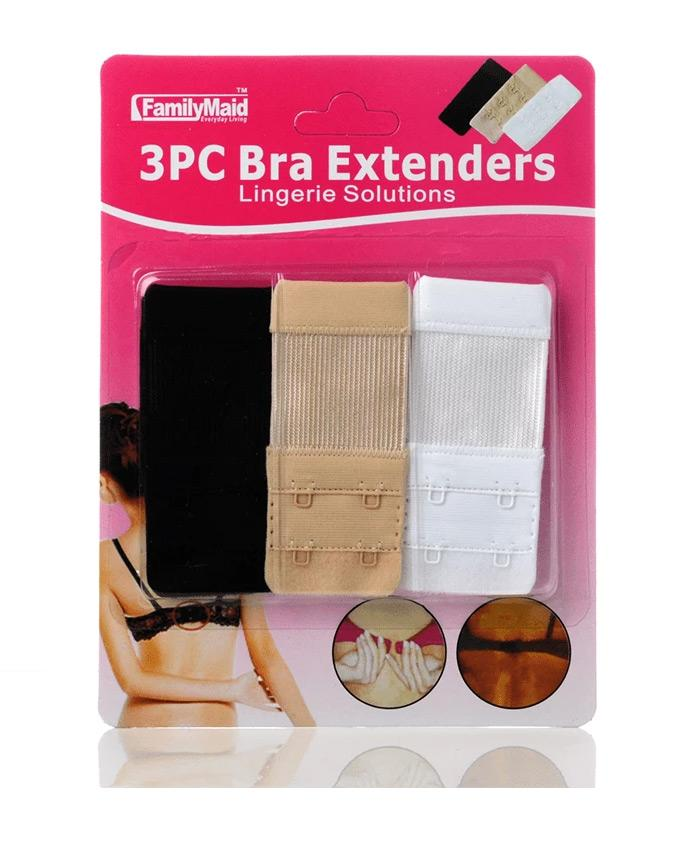 Family Maid Bra Extenders 3 Pc., EVES