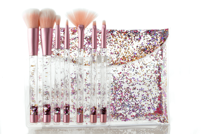 Pink Dream Aquarium Liquid Glitter Brush Set